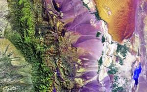 ДЗЗ. Снимок земли из космоса.