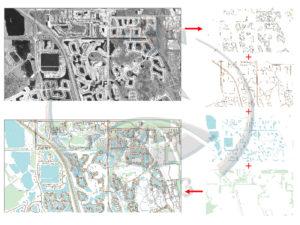 Технологическая схема создания векторной карты населенного пункта
