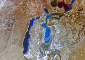 """Аральское море, """"Метеор-М"""" №2"""